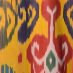 south-east asian ikat detail