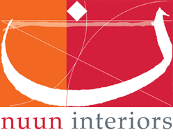nuun interiors white logo