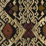 indonesian songket detail